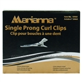 Marianna Single Prong Curl Clips, 80 Pack