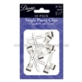 Diane Single Prong Clips, 10 Pack