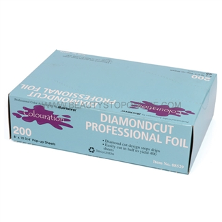 "Marianna Diamond Cut Foil 8"" x 10-3/4"", 200 Count"