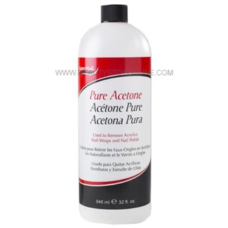 SuperNail Pure Acetone 32 oz