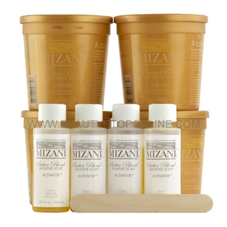 Mizani Butter Blend Sensitive Scalp Rhelaxer 4 Applications