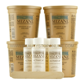 Mizani Sensitive Scalp Rhelaxer 4 Applications