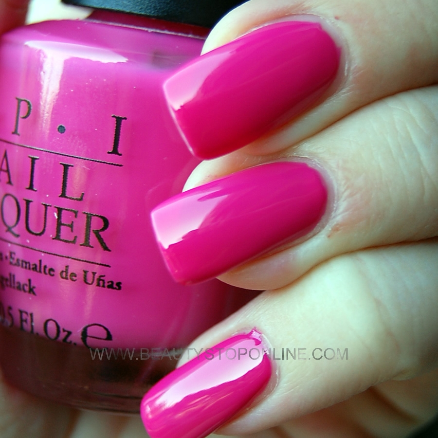 OPI That's Hot Pink #B68 - Beauty Stop Online | 900 x 900 jpeg 393kB