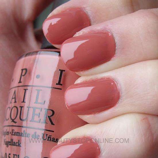 Opi Nail Polish Mauve Color: OPI Java Mauve-A #S46