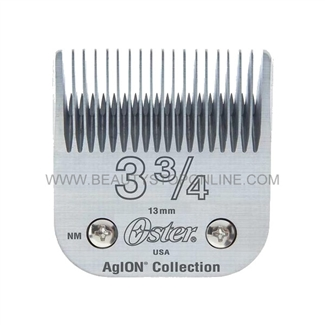 Oster AgION Full Tooth Size 3 3/4 Hair Clipper Blade 76918-206