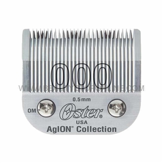 Oster AgION Size 000 Hair Clipper Blade 76918-026