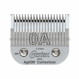 Oster AgION Size 0A Hair Clipper Blade 76918-056