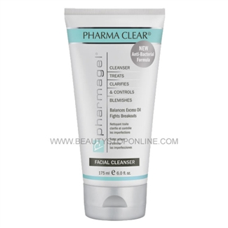 Pharmagel Pharma Clear Anti-Bacterial Cleanser - 6 oz