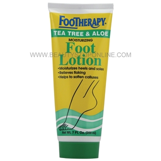 Queen Helene Footherapy Tea Tree & Aloe Foot Lotion