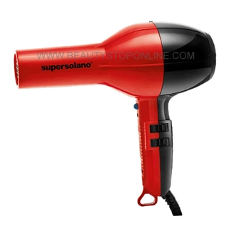 Super Solano 232K Professional Hair Dryer - Red/Black 1875 Watt