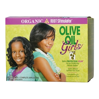 Organic Root Stimulator Olive Oil Girls No-Lye Relaxer