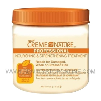 Creme of Nature Nourishing & Strengthening Treatment 15 oz