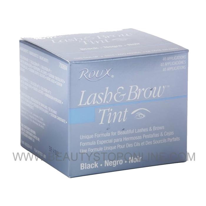 Roux Lash Brow Tint Black 40 Applications 695286 Beauty Stop Online