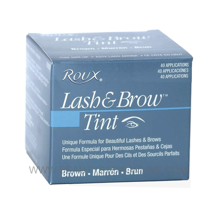 Roux Lash Brow Tint Brown 40 Applications 695288 Beauty Stop Online