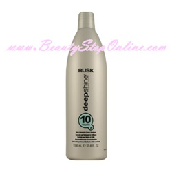 Rusk Deep Shine Bio-Marine Therapy Shine Enhancing Cream Developer - 1 Liter (10 Volume)