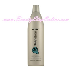 Rusk Deep Shine Bio-Marine Therapy Shine Enhancing Cream Developer - 1 Liter (30 Volume)