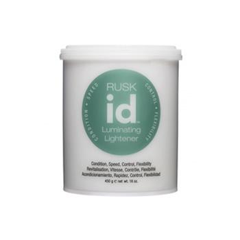 Rusk Id Luminating Lightener Gentle Dust Free Non Ammonia Hair