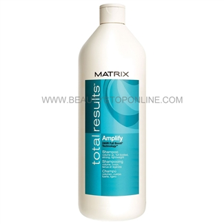 Matrix Total Results Amplify Shampoo, 33.8 oz