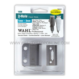Wahl 2 Hole Standard Clipper Blade 1006