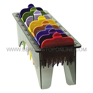 Wahl Color-Coded Cutting Guides with Caddy 3170-400