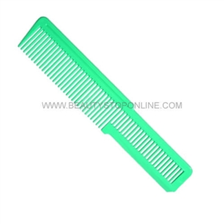 Wahl Flat Top Hair Cutting Comb - Florecent Green
