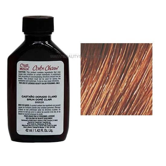 Wella Color Charm Liquid 7wv Nutmeg