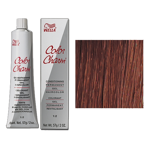 Wella Color Charm Permanent Gel 6r Red Terra Cotta