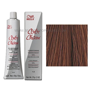 Wella Color Charm Permanent Gel 4r 356 Cinnamon Brown