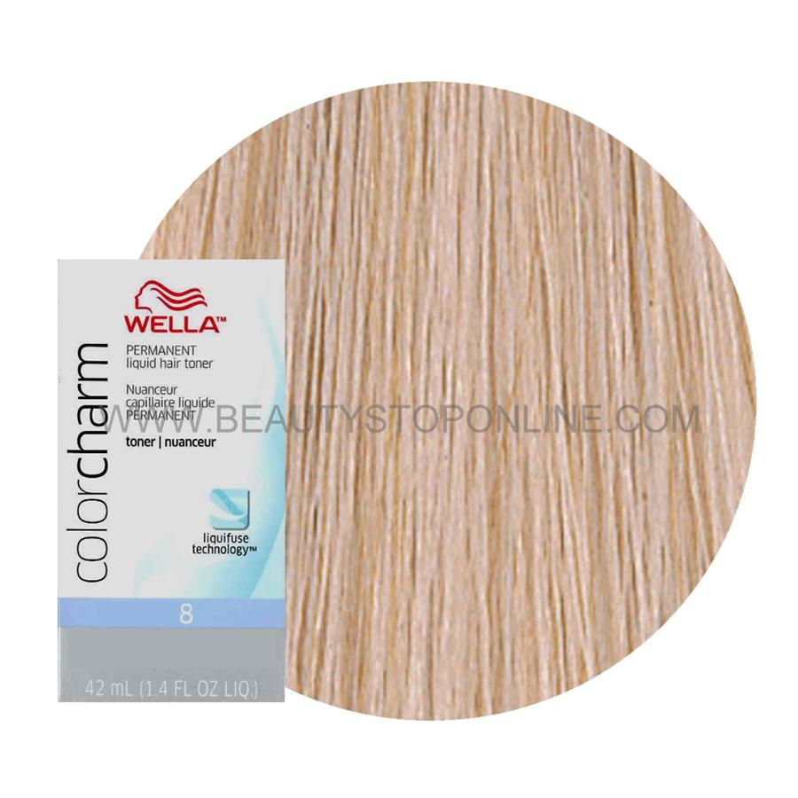 Wella Color Charm Liquid Toner T 35 Beige Blonde Beauty