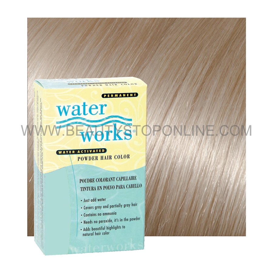 Water Works Champagne Blonde 37 Permanent Powder Hair Color