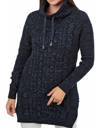 Women NAVY Knit Sweater