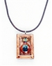 Janick Designer Hand-Crafted Necklace Tequila Sunrise