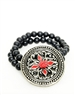 Men Hand Crafted Bracelet- Janick Men Medallion hand Crafted Bracelet