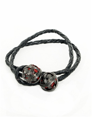 Men Hand Crafted Bracelet - Janick Men Woven Wires Bracelet