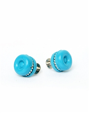 Janick Luxury Hand-Crafted Cuff Links | Turquoise Bagel