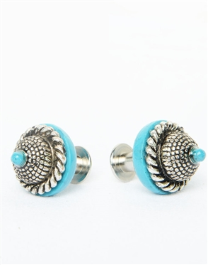 Janick Luxury Hand-Crafted Cuff Links | the Turquoise Eye