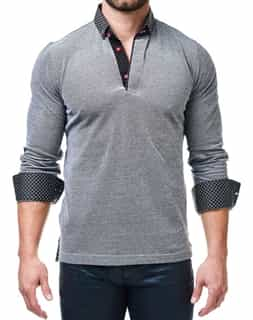 Long Sleeve Polo- Men Fashion Polo