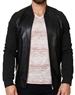 Designer Black Leather Jacket