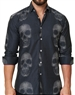 Trendy Skull Dress Shirt
