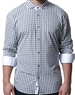 Comfortable and Stylish Grey Check Dress Shirt
