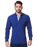 Men Designer Blue Casual Shirt