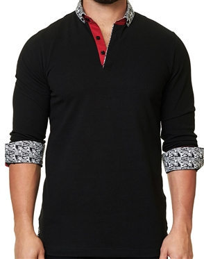 Maceoo Unrivaled  Polo L Solid Black