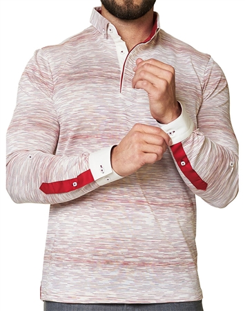 Maceoo Unrivaled  Polo L Ing White Red