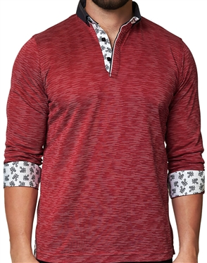 Maceoo Unrivaled  Polo L Line Red Navy