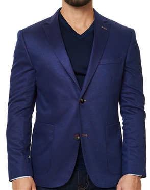 Luxury Purple Blazer