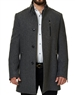 Luxury Gray Peacoat