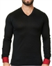 Maceoo Unrivaled | V Neck L Solid Black