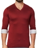 Maceoo Unrivaled | V Neck L Solid Red