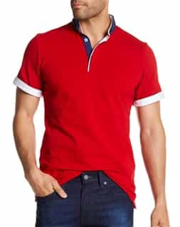 Luxury Red Polo