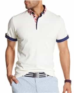 Cream Fashion Polo